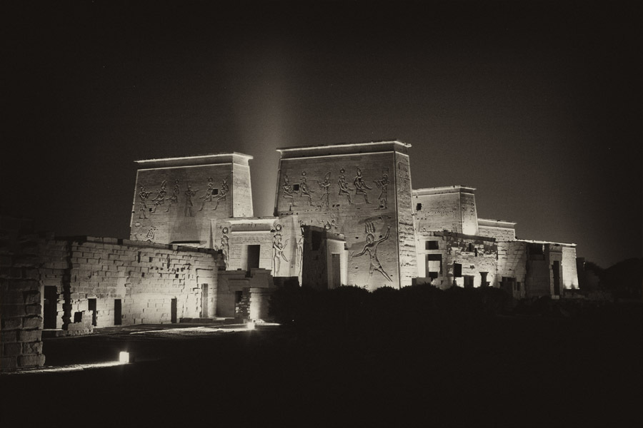 EGYPT: Temple to Hathor at Philae : Gallery : photographs.chesterhiggins.com